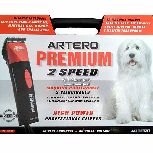 Artero Premium 2 Speed tondeuse inclusief scheerkop