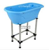 Hondenbad blauw