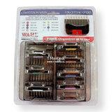 Wahl set metalen opzetkammen 8 stuks in box, voor snap-on koppen van Andis / Wahl / Heiniger_21